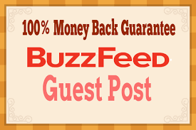 Submit Unique Content and publish Guest post on Buzzf...