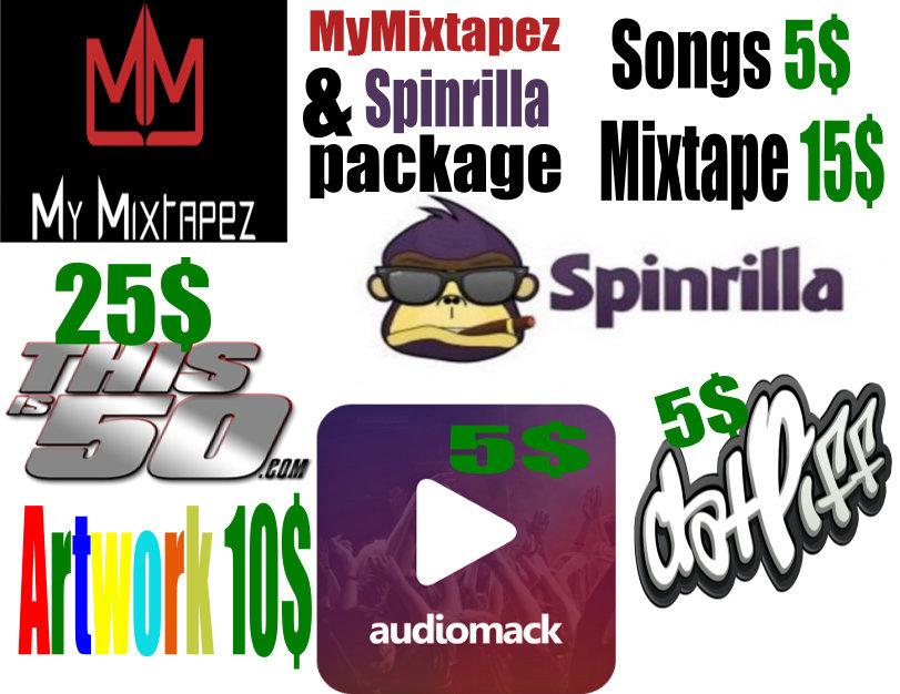 Spinrilla & MyMixtapez Uploads