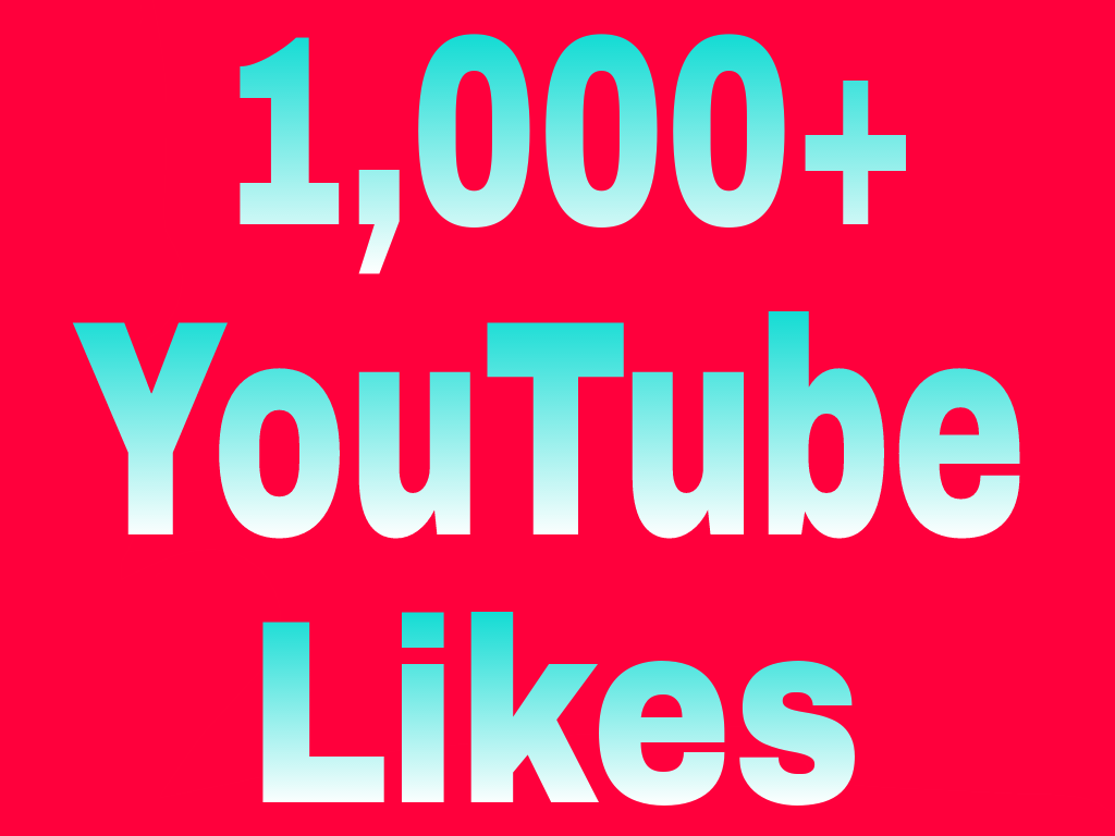 Guaranteed 1,000+You-Tube video Li-kes Split Available 6/9 hours in complete