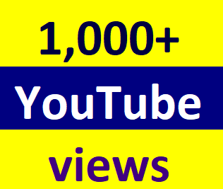 Instant start 1000 To 1500 Youtube vie'ws non drop refill guaranteed 3-6 hours in complete