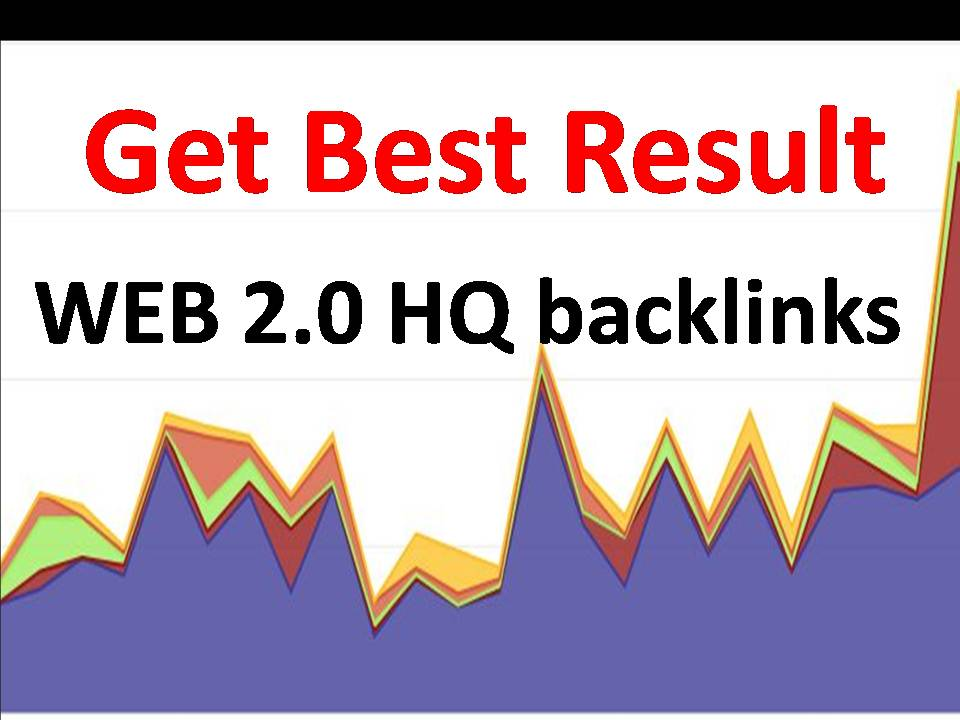 Get 1000 Web 2 Backlinks with Authority website and f...