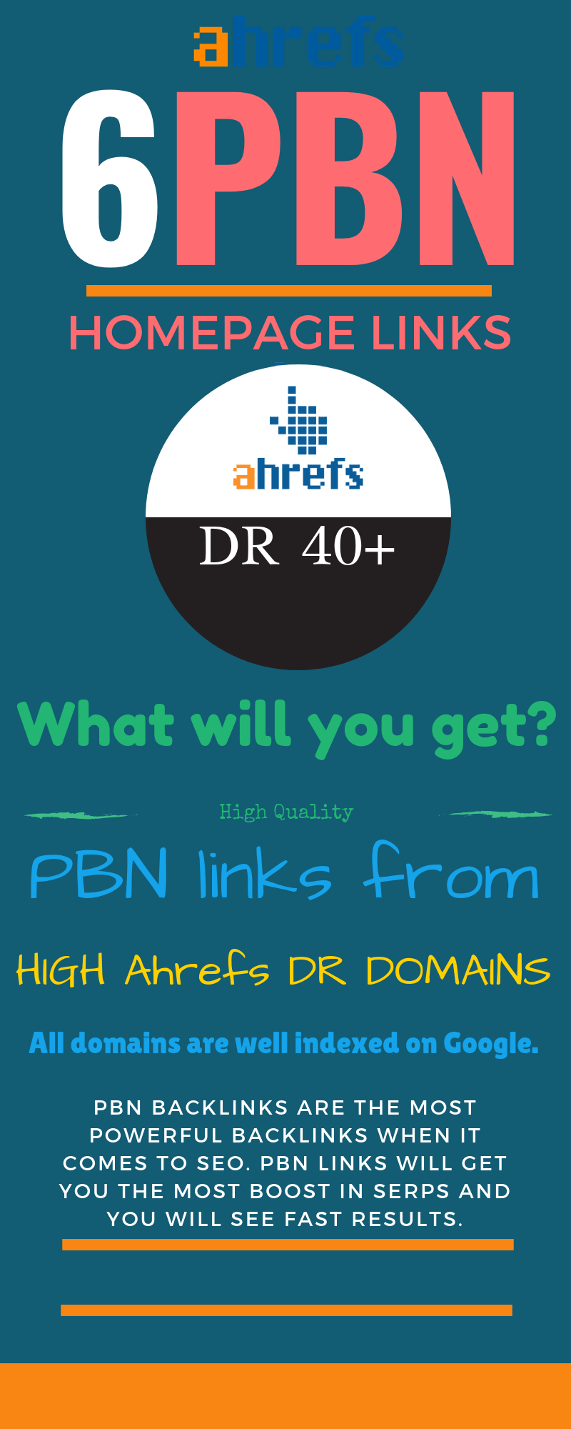 6 DR +50 PBN Homepage Dofollow Links