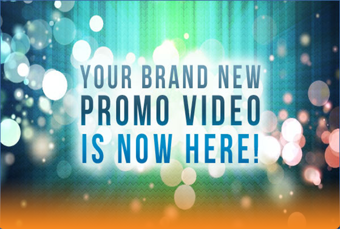 I Can Create This Awesome Promotional Video