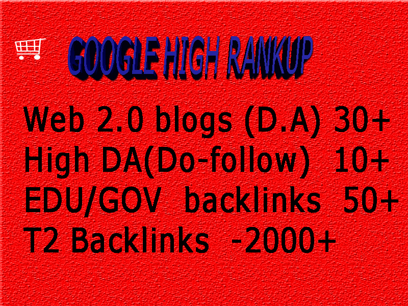 Boost Google1st page Rank with High DA Web2  Backlinks with organic traffic
