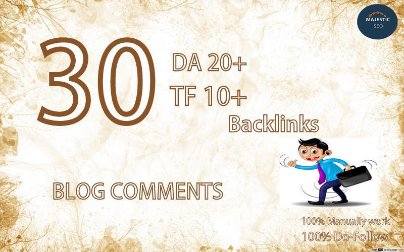 I Provide you High Da Tf Dofollow Backlinks