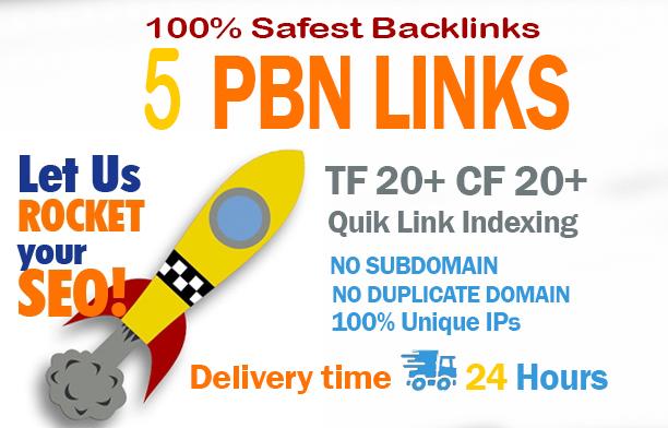 Create 5 Permanent Pbn Posts,  Powerful Pbn Links