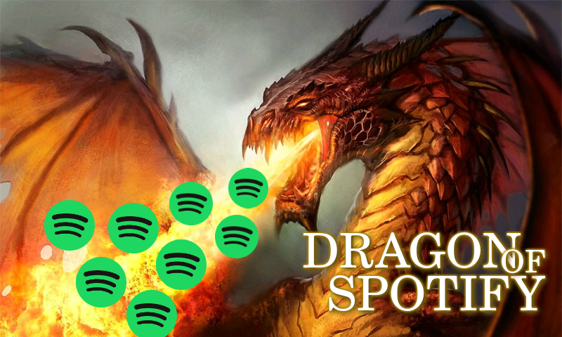 Dragon is Mad 500.000K Play music and streaming