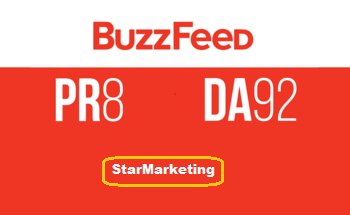 Will write and Publish a Guest Post on BuzzFeed DA 94