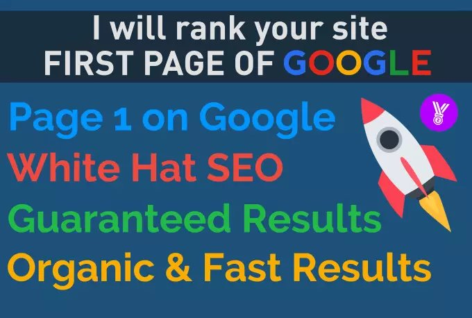 Rank Your Website On First Page Of Google