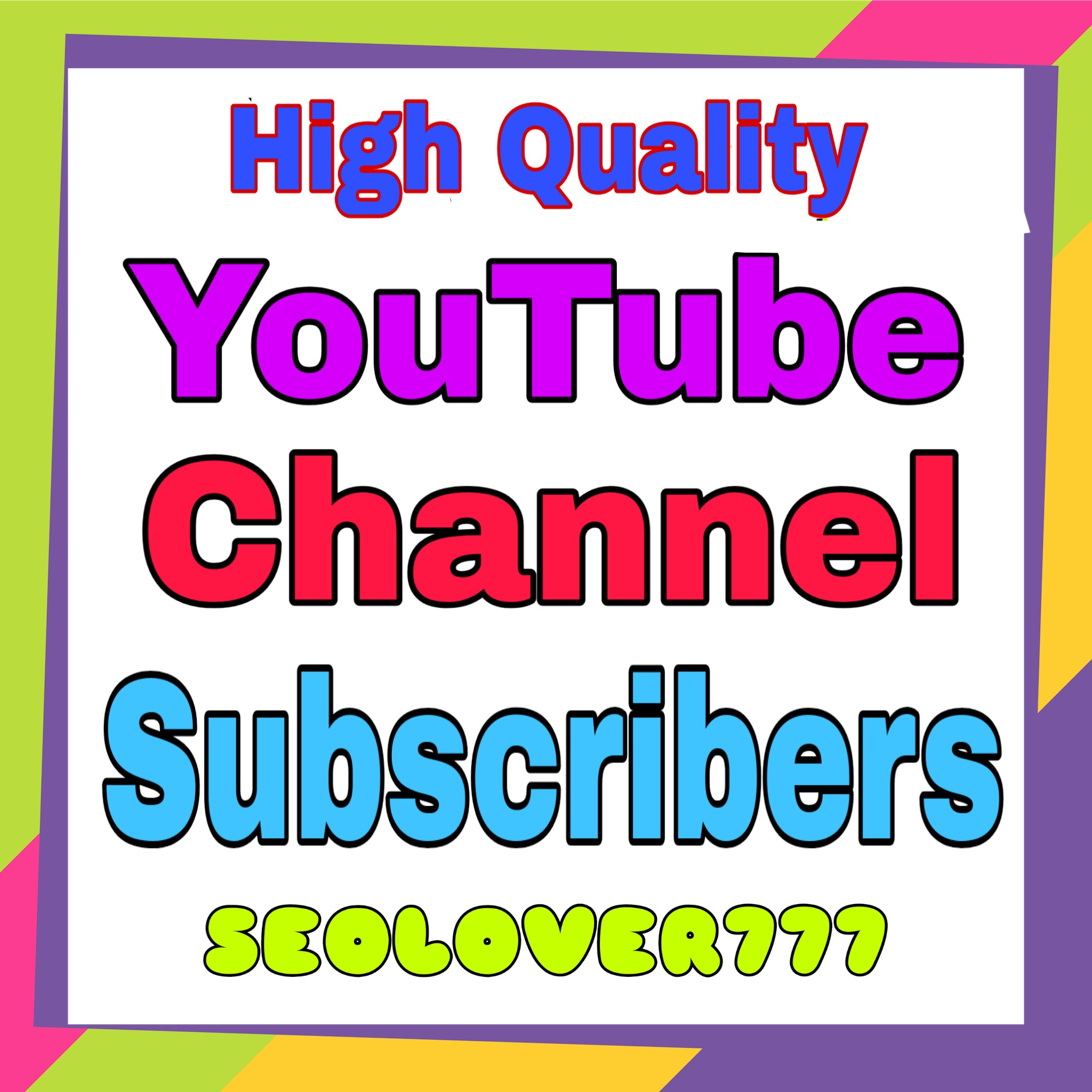 Real & Active YouTube Promotion Via Real Users & Non Drop Guaranteed