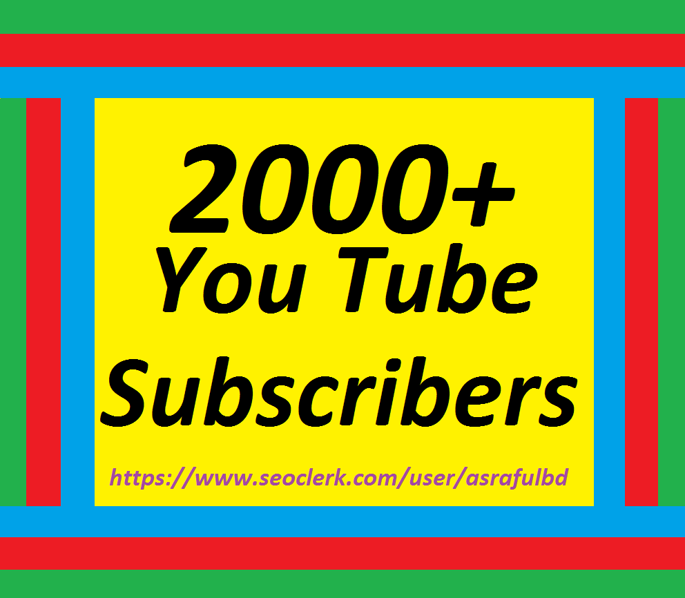 Get 2000+Channel Promote Lifetime Guaranteed Super Speed 1224 hrs