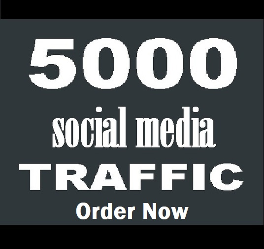 send 5000 traffic for 5 days with unlimited keywords