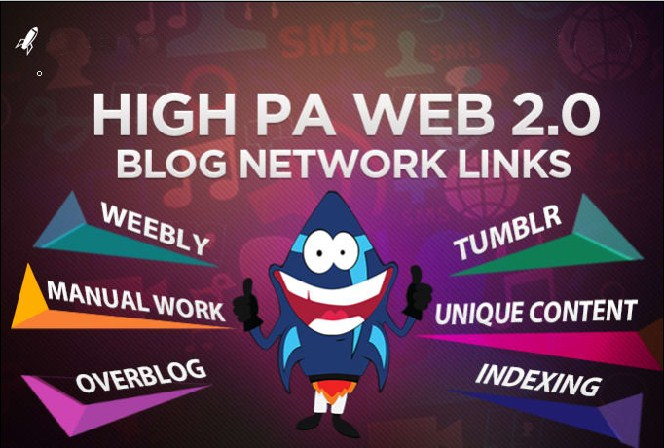 Create High DA 20 Powerful Web 2.0 backlinks for your website google 1st page ranking - Update SEO 2018