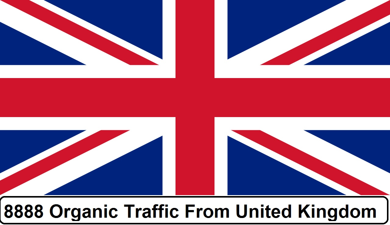 More than 7000 Real Organic Traffic from UK,  USA