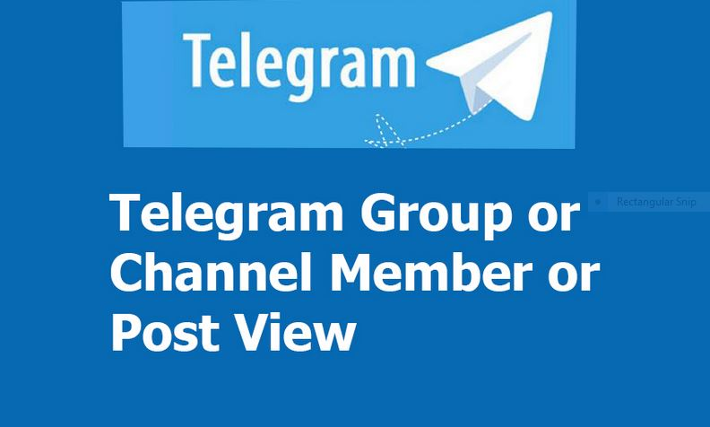 Real & Active 500+ Telegram Channel Membr or 300+ Gr0up Membr or 300+ Social Media Services All Offer Here