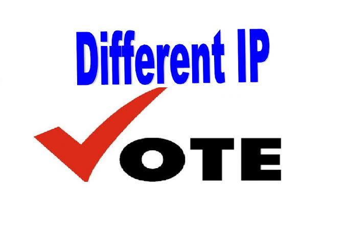 I will give you 100 Different IP votes for your Online Voting contest