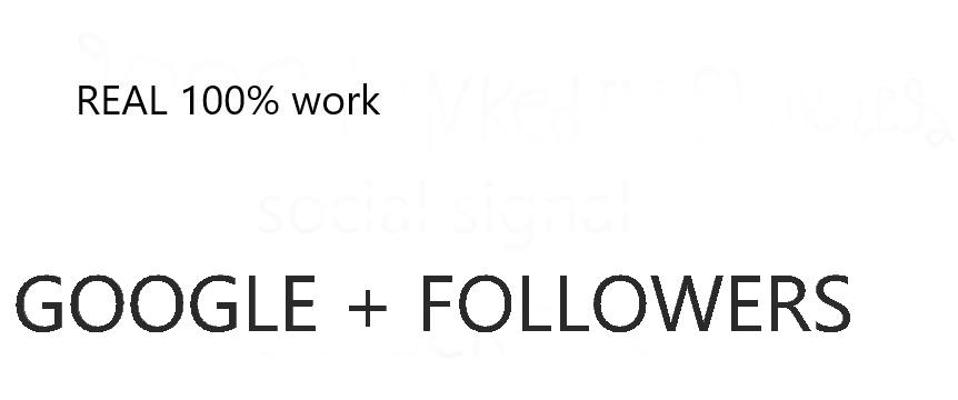 125 google plus followers boost link