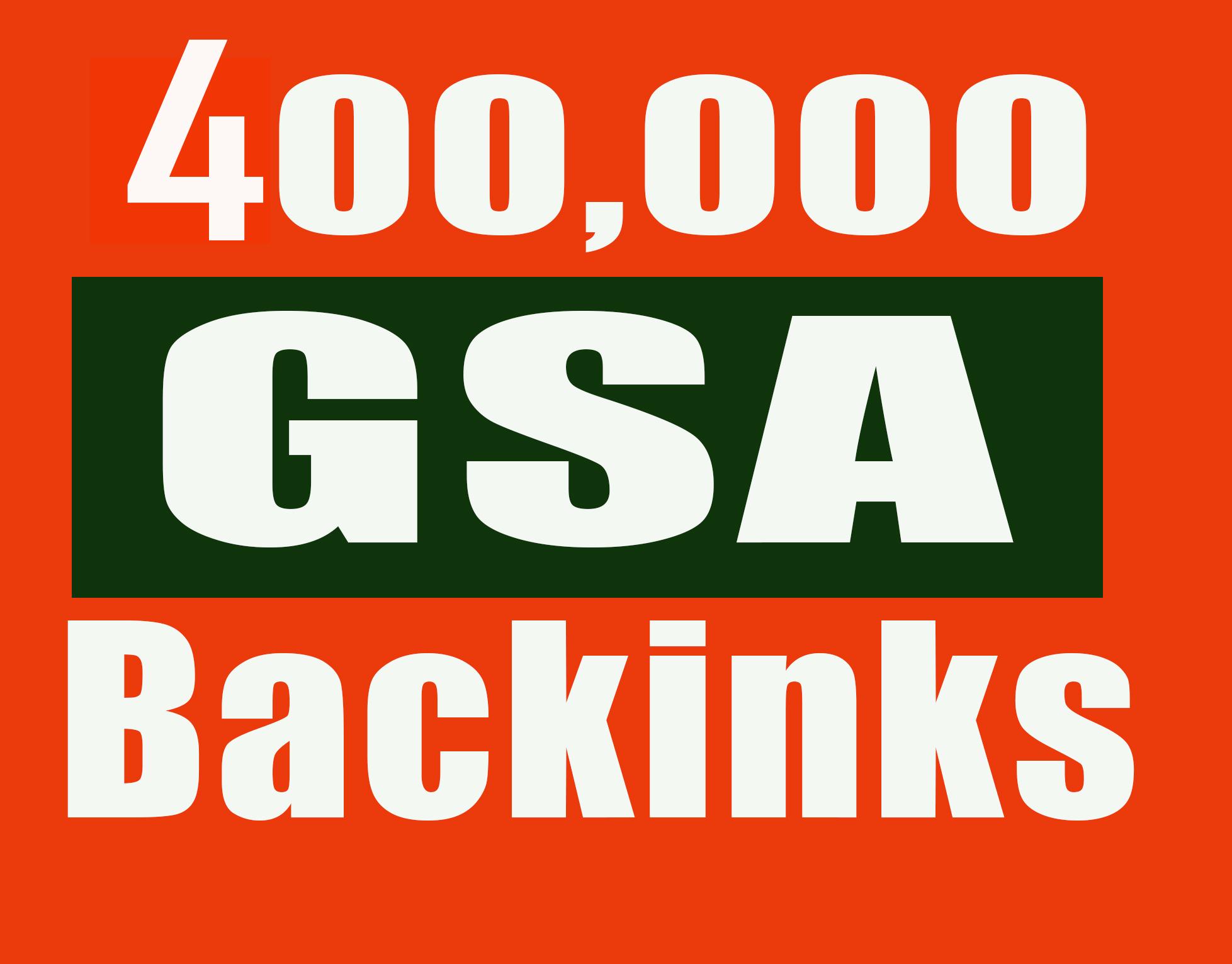 400,000 Gsa,Ser, Backlinks For Ranking Website, youtube