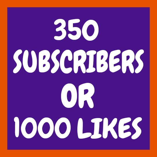 Non-Drop 350+ You'Tube Chan'nel Subs'cribers & Follo'wers OR 1000+ You'Tube Video Lik'es very fast delivery only