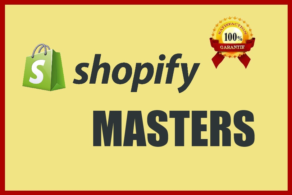 Design, Customize,  Set Up Your Shopify Website