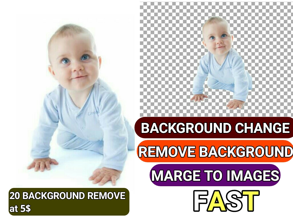Background remove of Amazone products