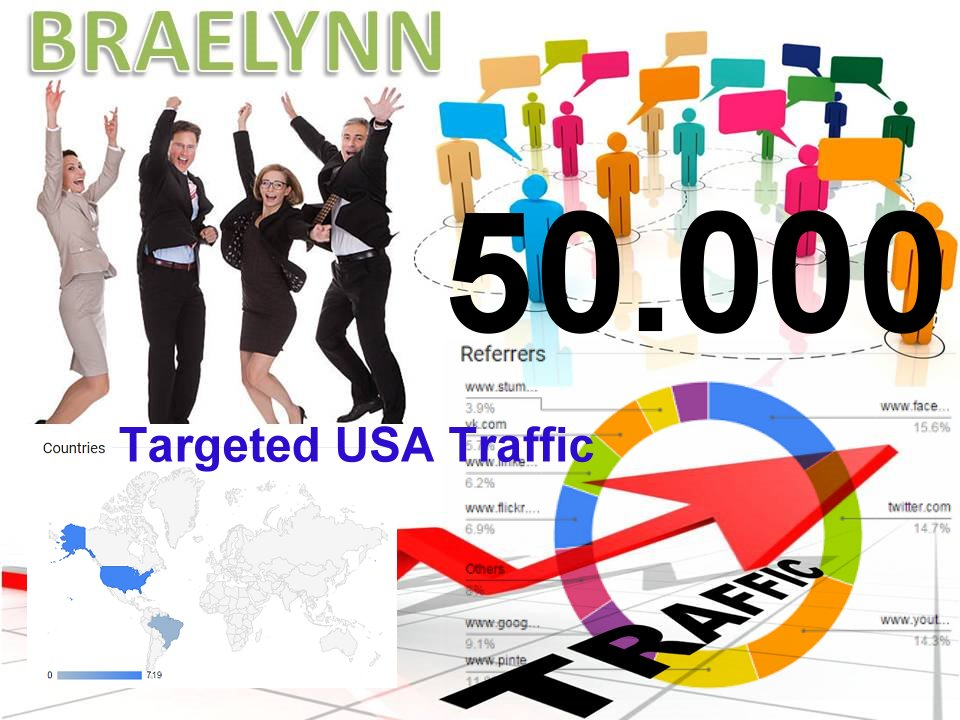 50,000 USA targeted HUMAN TRAFFIC for your website or blog