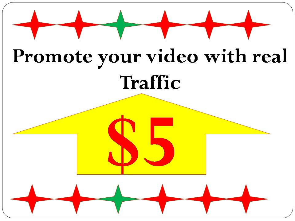 I Promote your video with real traffic and rank on google