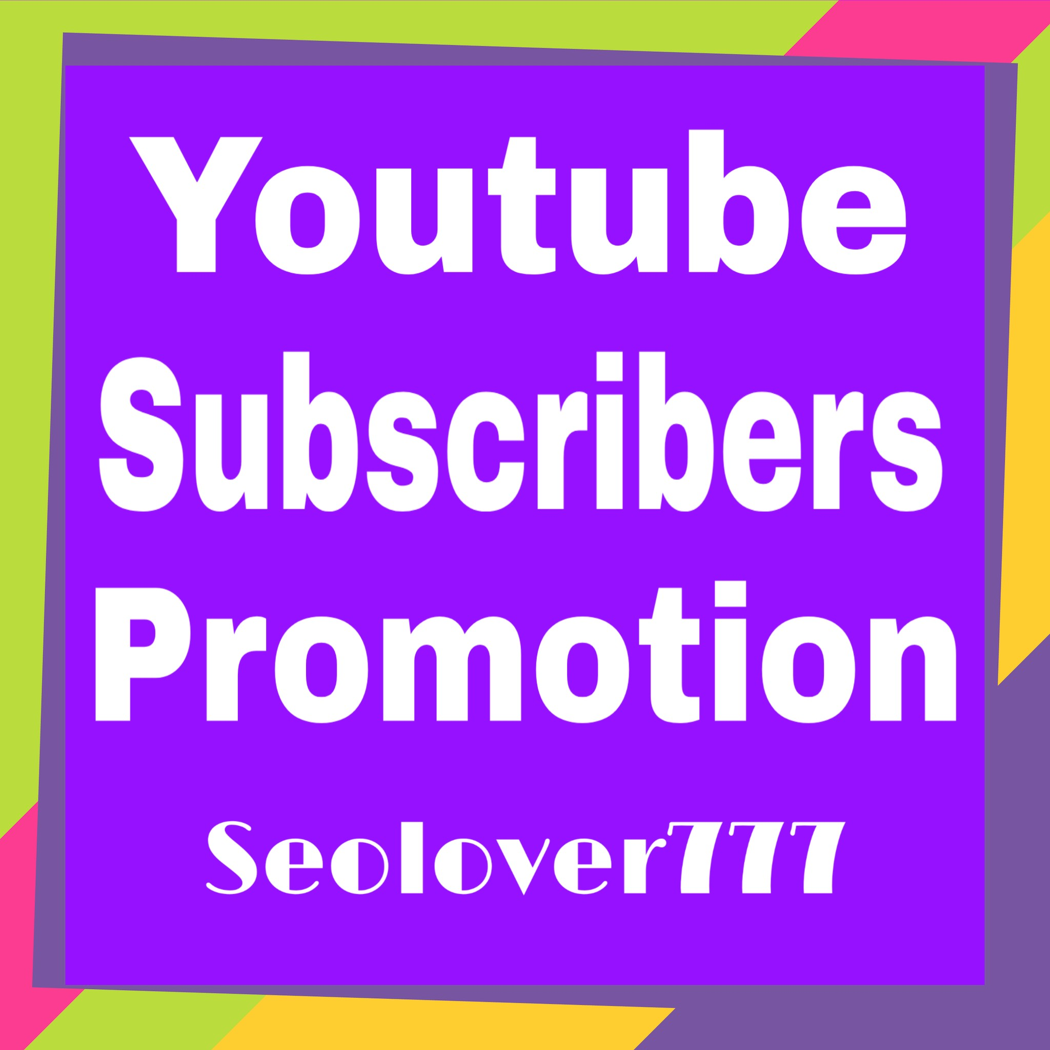 Youtube organic promotion via real users only