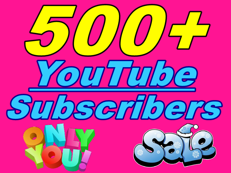 Fantastic Express 500+ Real You+Tube Subscribers From Worldwide