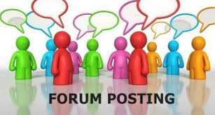 Get 30 Niche Relevant Forum posting For your Website