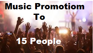 Here is done  Realistic Music Promotion To 15million People