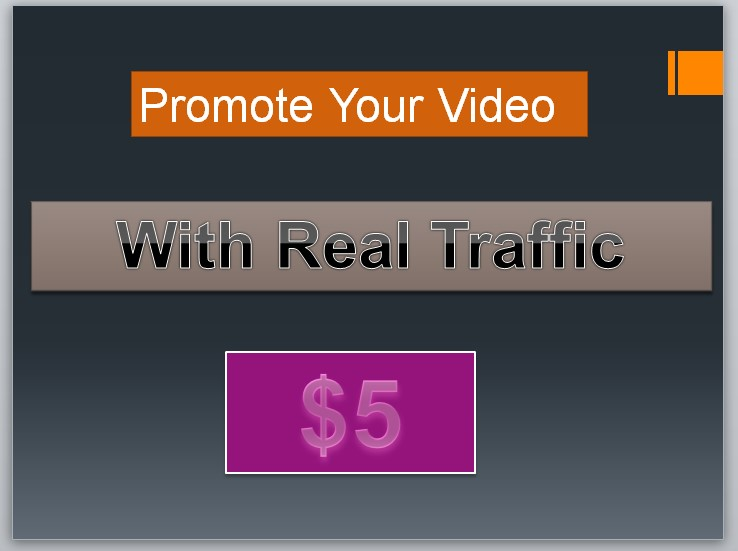 Promote your video with real traffic and rank on google