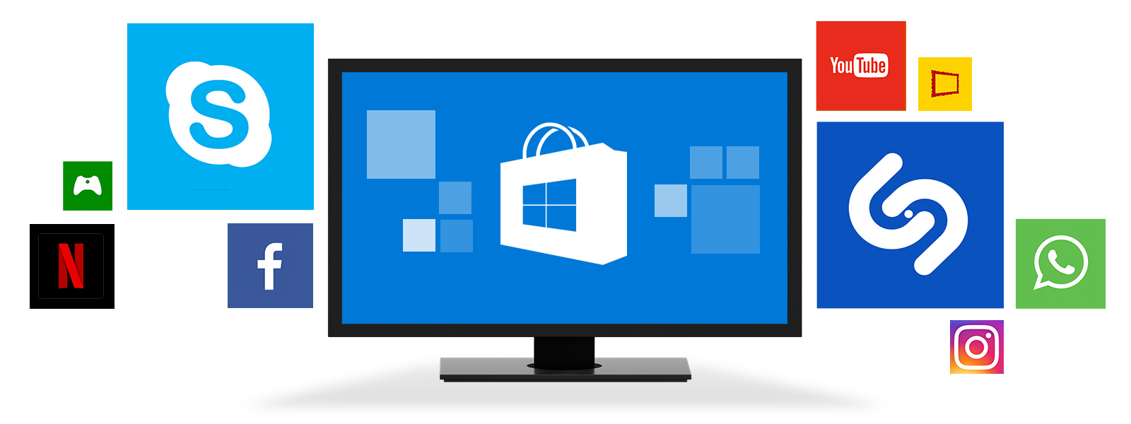 create your windows apps as you want