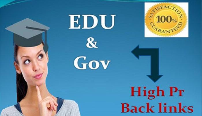 Do Permanent Gov And Edu Backlink For Ranking