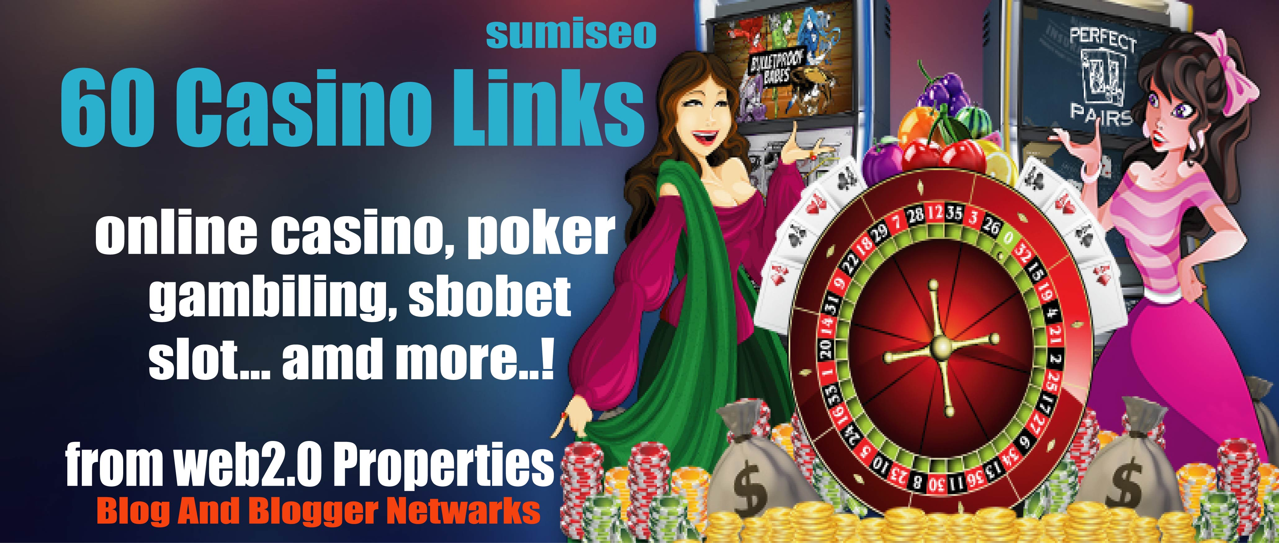60 Casino Blog post- High Quality Backlinks for Casin...
