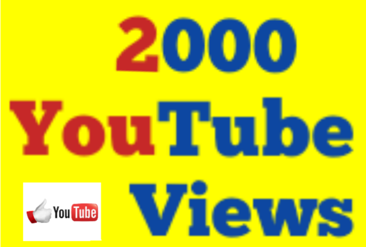 1,000 to 2000 Or 1K Or 2K High Quality Vieews with Extra Choice 5000,10000,15000,25000 and 50,000,50K,100,000 100K, 200K,300K,500K 1 Million