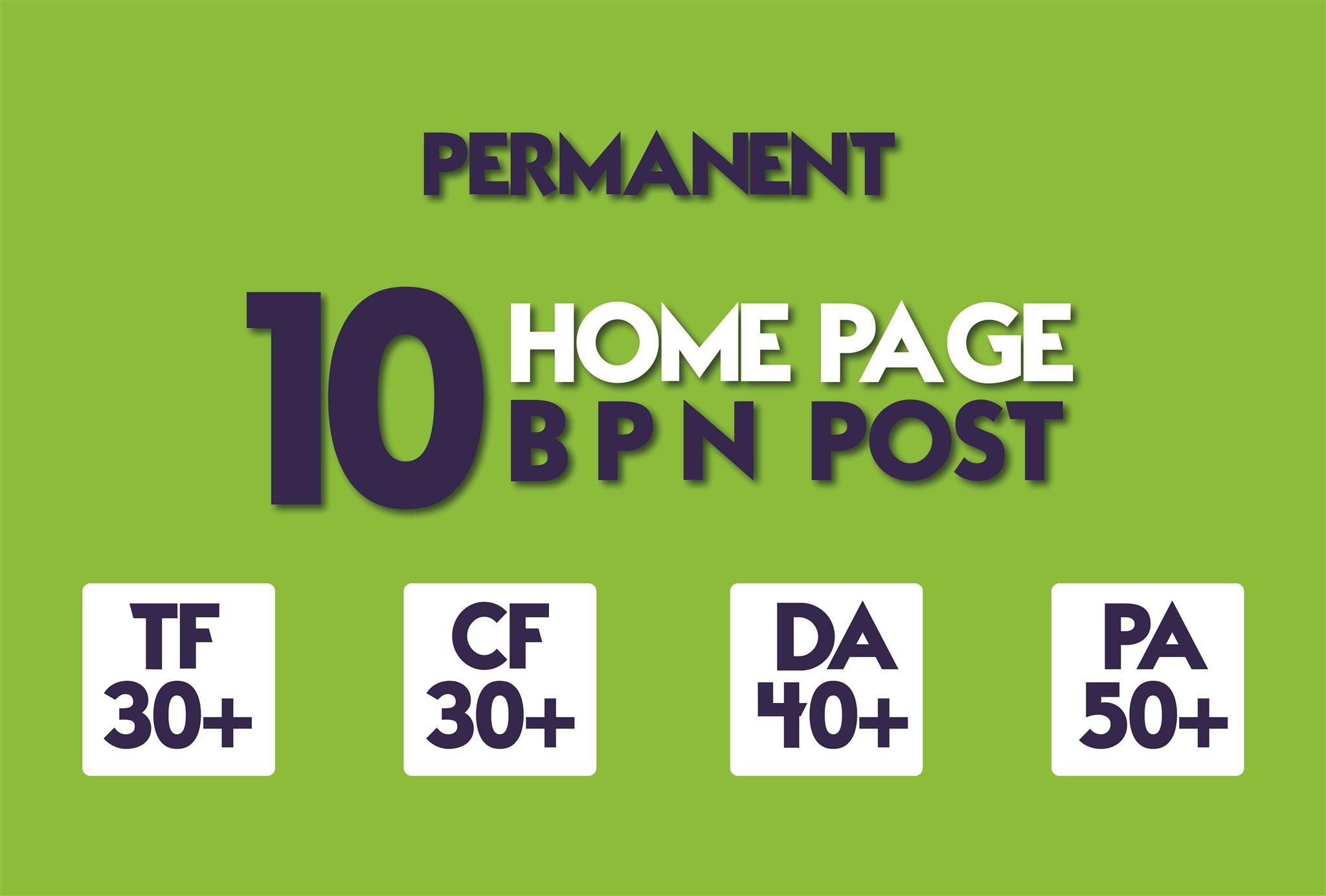 Create 8 Manual HIGH TF CF 20+ DA 15+ PA 35+ Dofollow PBN Backlinks