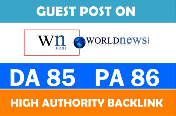 Guest Post On High Authority Wn Dot Com Da 85