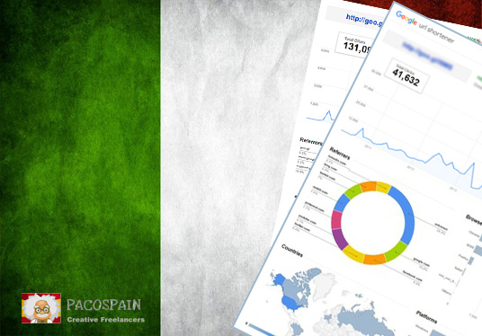 250 Italian Targeted Visitors for 30 Days with low bounce rate