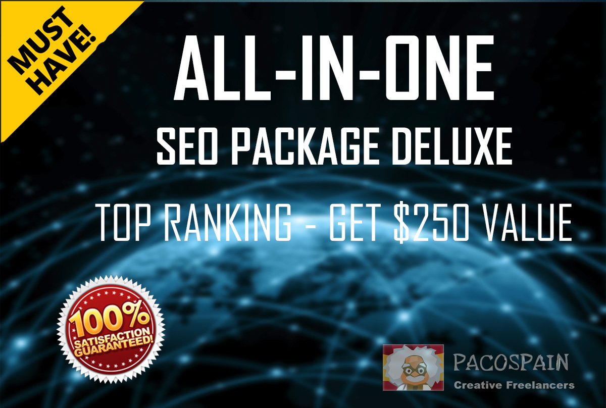 ALL IN ONE SEO Package - THE BEST -