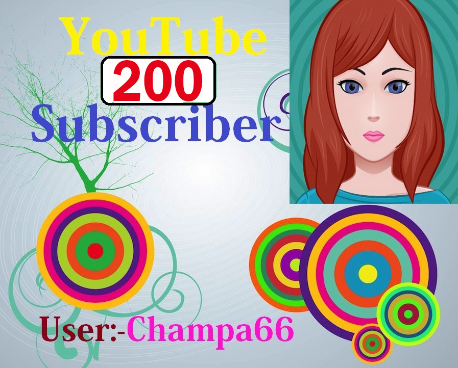 200+ High quality subscriber non drop fully safe