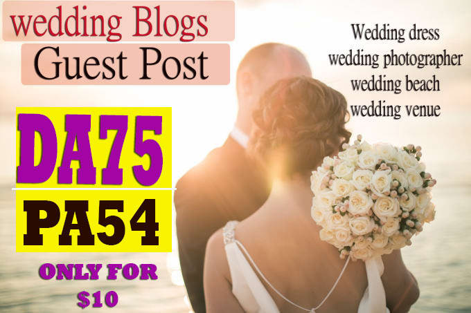 write post in da75 wedding blogs