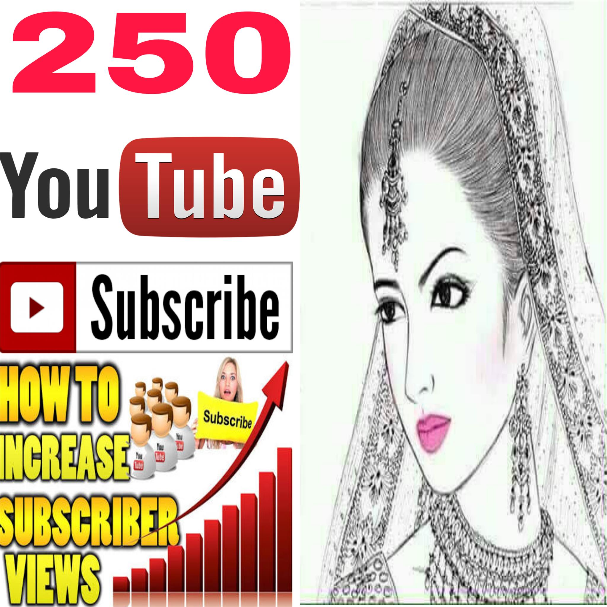 Rifile Guaranteed 250+ real human work  non drop channel SubScribers  48 hours  completed