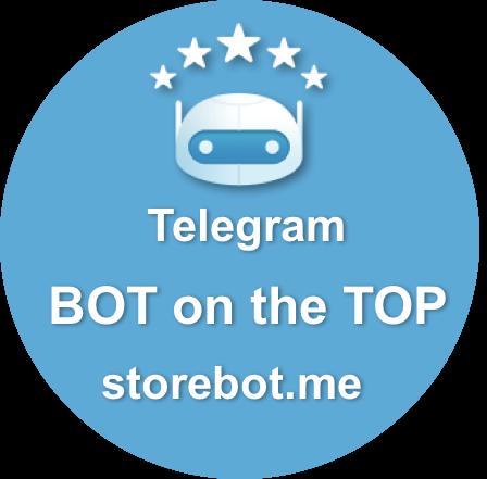 100 votes to promote telegram bot in storebot