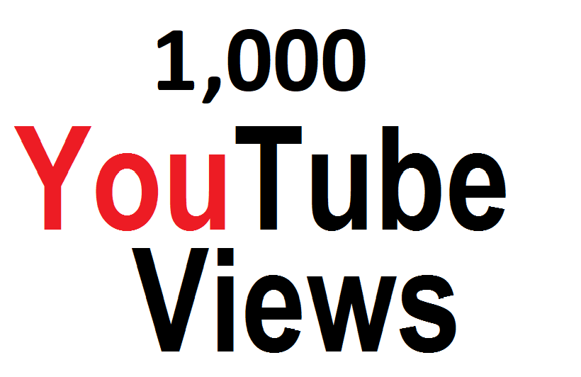 Give 1,000 High Quality You_Tube Vie-ws fully safe instant start