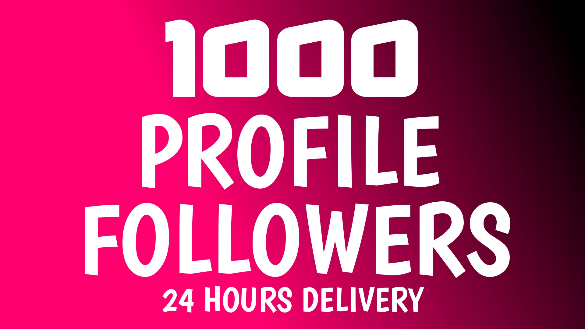 Add Fast 1000+ Profile Followers High Quality