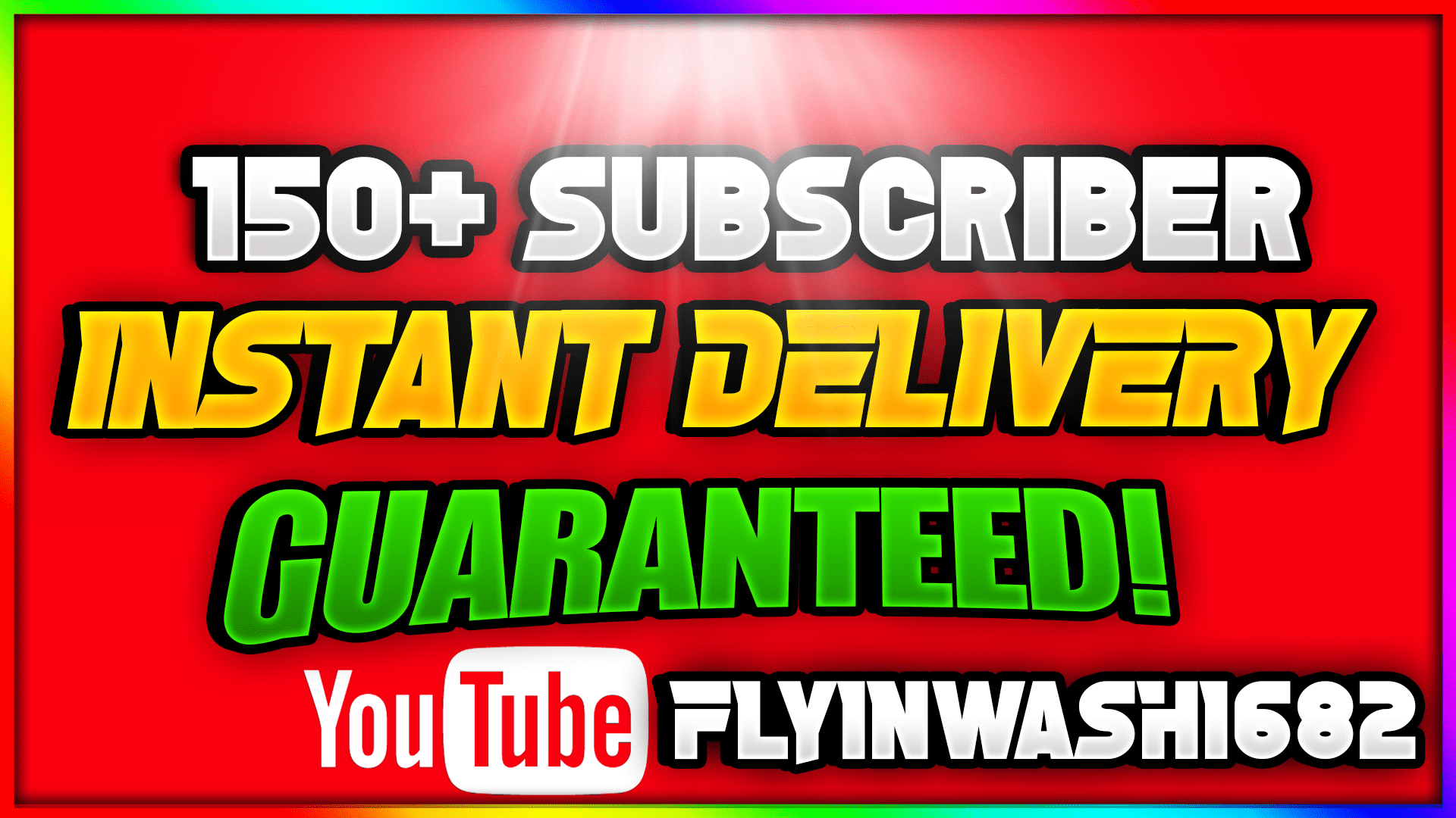 150 Instant Subscribers in 12 / 24 Hrs Instant Start No Drop