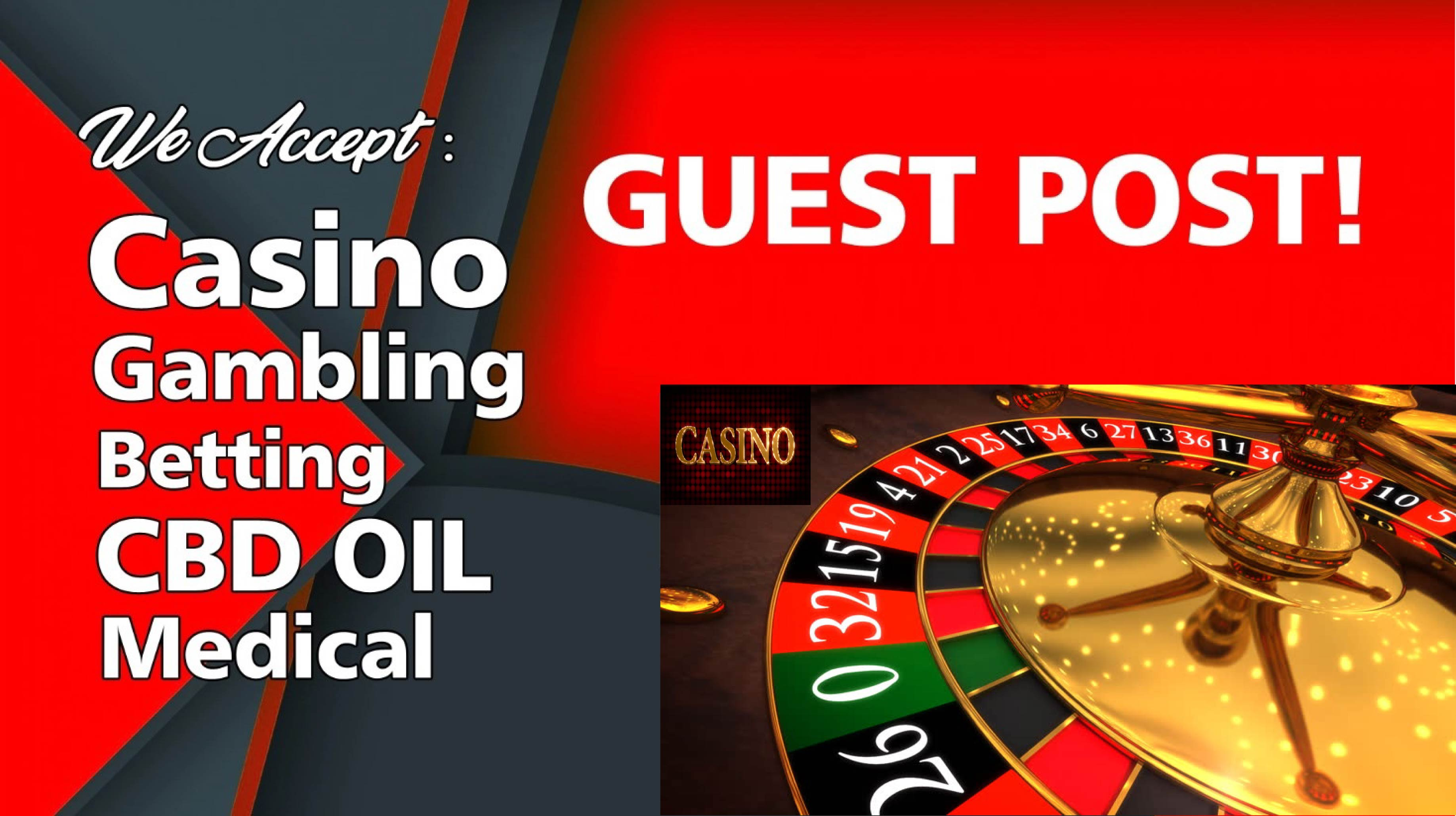 Casino Guest Post for Gambling Poker Sports Betting Online Casino Niche Site