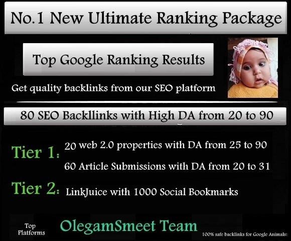 No.1 New Ultimate Ranking Package - Top Google Ranking Results