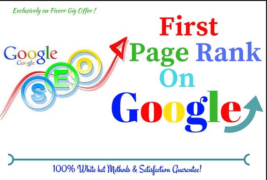 White hat seo for website or blog for top google rank...